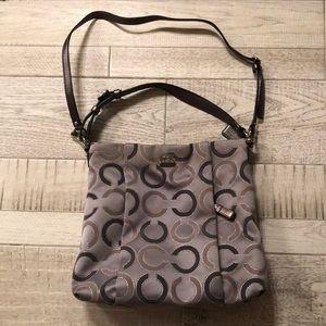 Grey coach bag